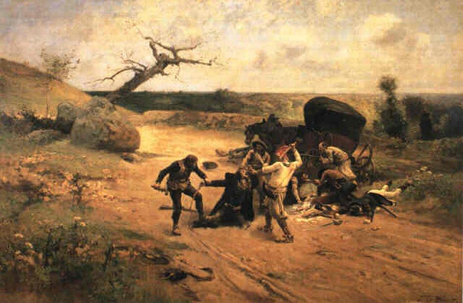 attaque de calèche, guerres de Vendée, chouans, chouannerie