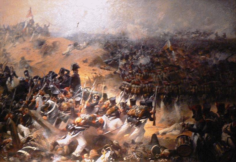 La bataille de la Moskova, bataille de la Moskowa ou bataille de Borodino (en russe : Бородинское сражение, Borodinskoïé srajénié) est une bataille opposant la Grande Armée commandée par Napoléon Ier à l'armée impériale russe menée par le feld-maréchal Mikhaïl Koutouzov. Elle a lieu le 7 septembre 1812 à proximité du village de Borodino, à 125 kilomètres de Moscou.