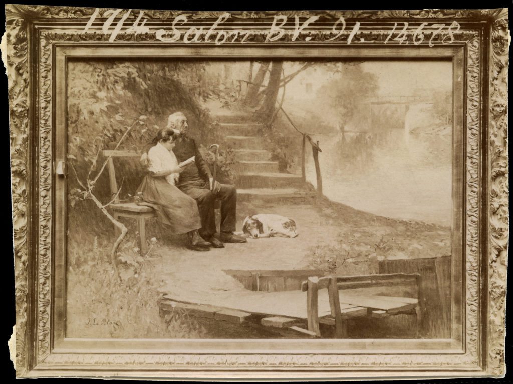 Salon 1891, grand-père, petit-maître,
