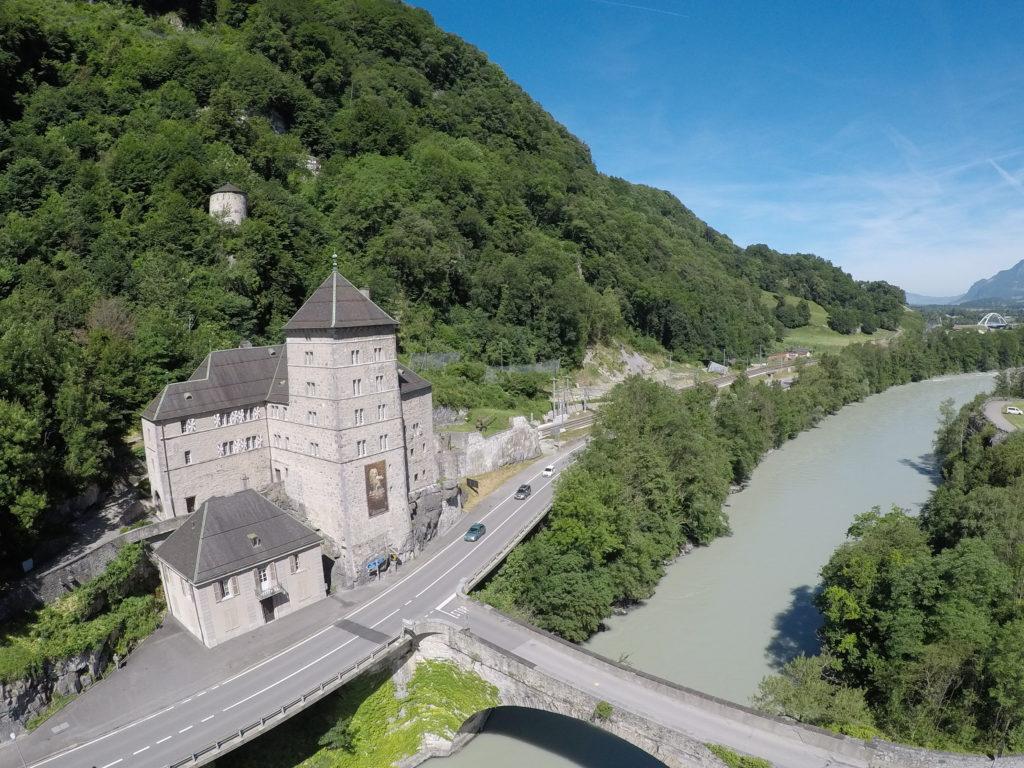 château, St-Maurice, Valais