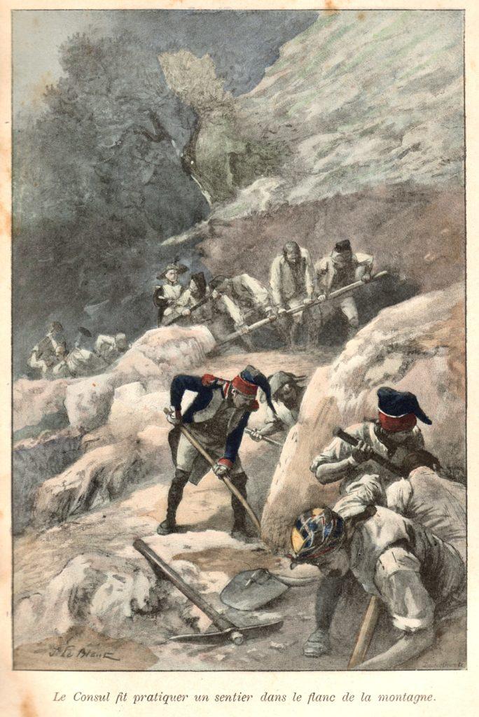 Coignet, 1er empire, Napoléon, route du Grand-St-Bernard